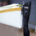 Sea kayak rudder