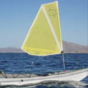 Sea kayak sail